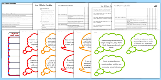 2014 Curriculum Year 2 Maths Assessment Resource Pack - numeracy