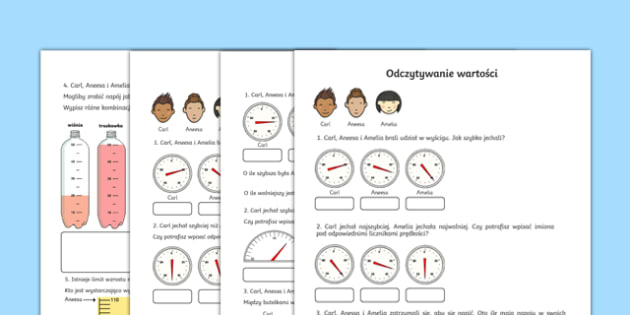 Test Odczytywanie wartości po polsku, worksheet