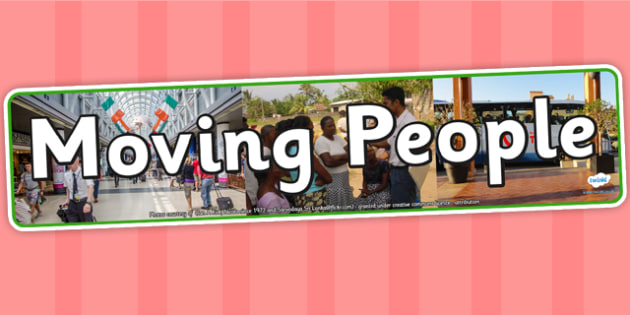 Moving People IPC Photo Display Banner - moving people, IPC display banner, IPC, moving people display banner, IPC display, moving people IPC banner