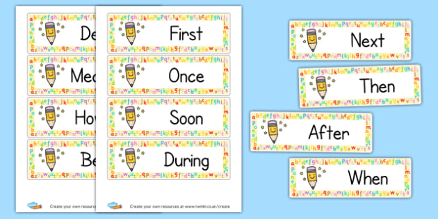 Openers - Display Sentence Starters Primary Resources, Display, Letters