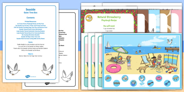 The Seaside Quiet Time Box