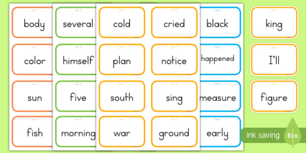 Fry Words The Fourth Hundred Flashcards