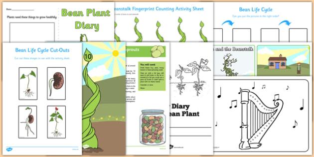 Top 10 Beanstalk Activity Pack - top 10, beanstalk, activity, pack, top ten