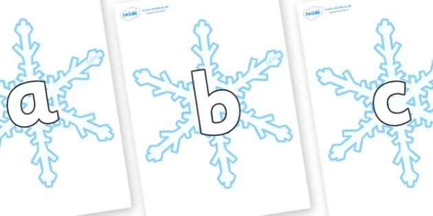 Phoneme Set on Snowflake - Phoneme set, phonemes, phoneme, Letters and Sounds, DfES, display, Phase 1, Phase 2, Phase 3, Phase 5, Foundation, Literacy