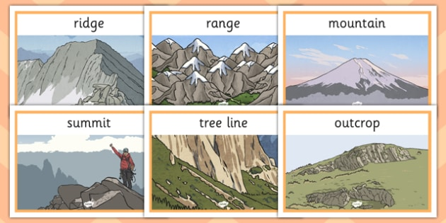 Magnificent Mountains Display Posters - magnificent, mountains