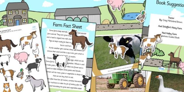 EYFS Farm Discovery Sack - farm, farm yard, EYFS, discovery
