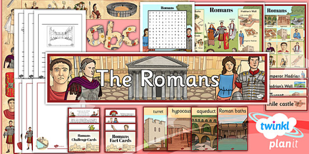 PlanIt - History LKS2 - Romans Unit: Additional Resources Pack
