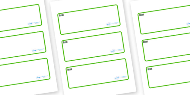 Rock Pool Themed Editable Drawer-Peg-Name Labels (Blank) - Themed Classroom Label Templates, Resource Labels, Name Labels, Editable Labels, Drawer Labels, Coat Peg Labels, Peg Label, KS1 Labels, Foundation Labels, Foundation Stage Labels, Teaching La