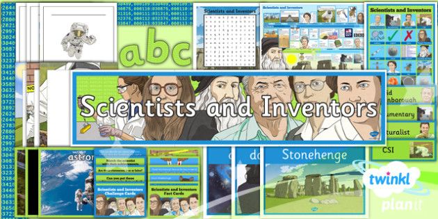 PlanIt - Science Year 5 - Scientists and Inventors Unit Additional Resources - planit, science, year 5, scientists and inventors, additional resources
