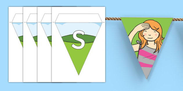 Sight Display Bunting
