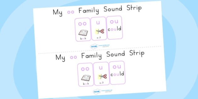 My Short oo Family Sound Strip - sound, sound production, strips