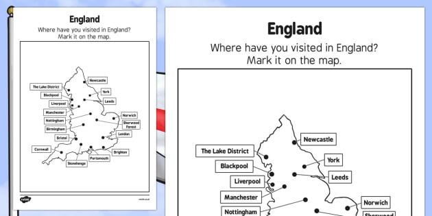 Elderly Care St George's Day England Map - Elderly, Reminiscence, Care Homes, St. George's Day