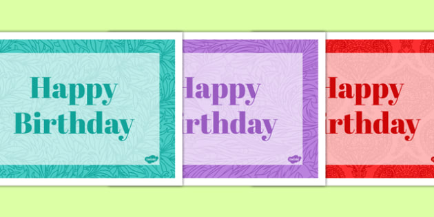 100th Birthday Party Place Mats - 100th birthday party, 100th birthday, birthday party, place mats