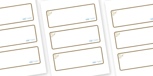 Kestrel Themed Editable Drawer-Peg-Name Labels (Blank) - Themed Classroom Label Templates, Resource Labels, Name Labels, Editable Labels, Drawer Labels, Coat Peg Labels, Peg Label, KS1 Labels, Foundation Labels, Foundation Stage Labels, Teaching Labe