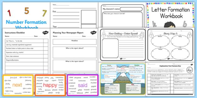 KS3 Literacy Writing Catch Up Resource Pack - literacy, writing