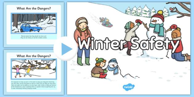 Winter Safety PowerPoint - winter, safety, powerpoint, winter safety