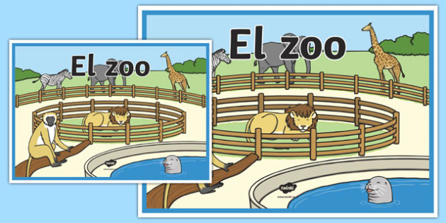 The zoo sign