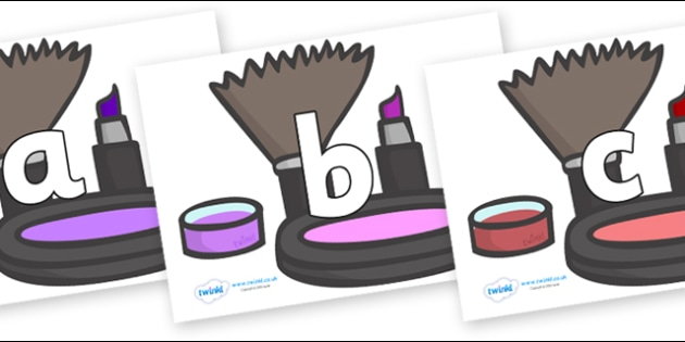 Phoneme Set on Make Up - Phoneme set, phonemes, phoneme, Letters and Sounds, DfES, display, Phase 1, Phase 2, Phase 3, Phase 5, Foundation, Literacy