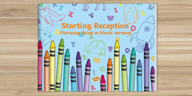 EYFS Starting Reception eBook Polish Translation - polish, EYFS, Early Years, Recepetion, FS2, Transition Resources, new school year, starting school
