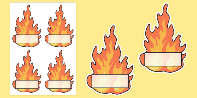 Flame Editable Self Registration Labels - flame, editable, self-registration, labels, register