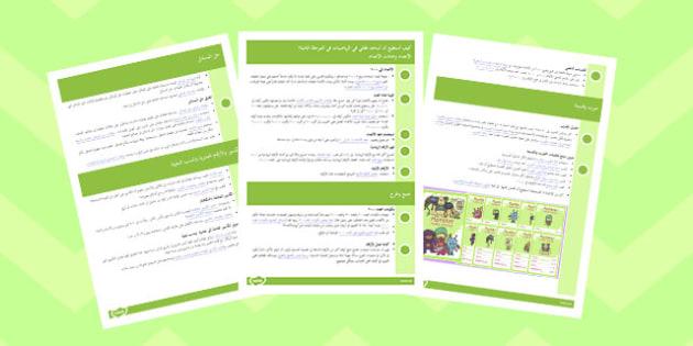 How Can I Help My Child With Maths in KS2 Arabic - arabic, maths