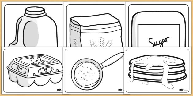 Pancake Day Colouring Sheets - pancake day, colouring, sheets