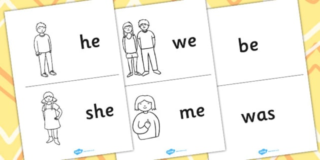 Phases 3-5 Tricky Word Practice Booklet - phases, tricky words