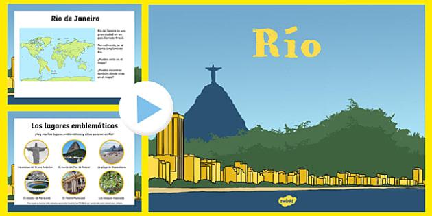 EYFS Rio Information PowerPoint