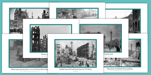 1916 Rising Aftermath Image Posters - Easter 1916 Rising, aftermath posters, display posters, irish history