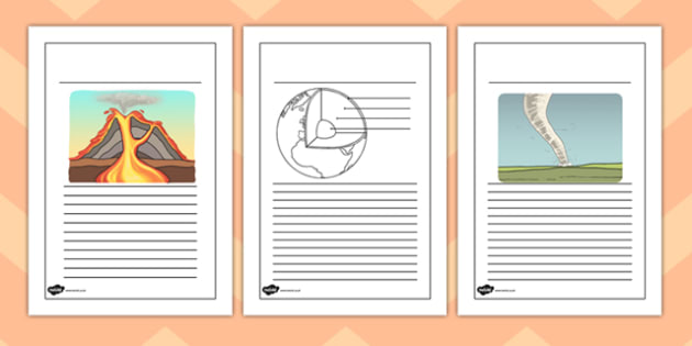 Extreme Earth Writing Frames - extreme earth, writing frames, write