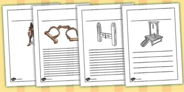 Crime and Punishment Writing Frames - writing frames, history