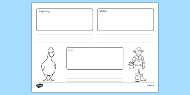 President Duck Sequencing Activity Sheet - duck for president, president duck, doreen cronin, sequencing activity, worksheet