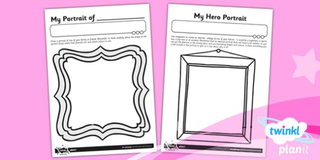 PlanIt - ArtKS1 - Portraits Unit Home Learning Tasks