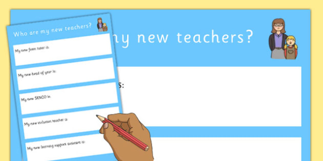 SEN Transition to Secondary School Who Are My New Teachers? - transition