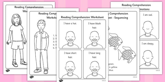 Reading Comprehension Worksheets - reading comprehension, comprehension worksheets, reading comprehension activities, understanding assessment, sen
