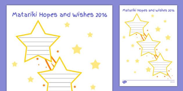 Matariki Hopes and Wishes - nz, new zealand, Matariki, goals, Maori, goal setting, hopes wishes