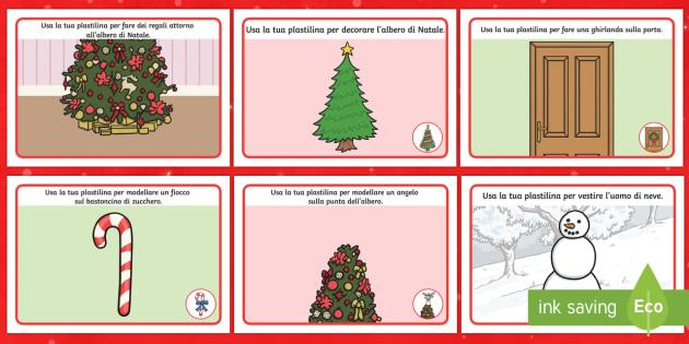 Tappetino per Plastilina Natalizio - Christmas, xmas, playdough, mat, tree, advent, nativity, santa, father christmas, Jesus, tree, stock
