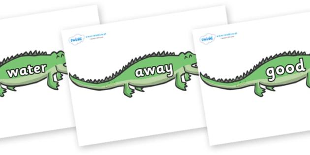 Next 200 Common Words on Crocodiles - Next 200 Common Words on  - DfES Letters and Sounds, Letters and Sounds, Letters and sounds words, Common words, 200 common words