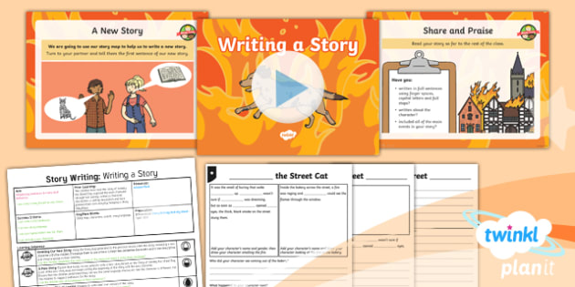 PlanIt Y1 Time Travel: The Great Fire of London Lesson Pack Story Writing (5)