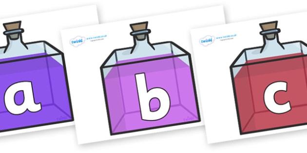 Phoneme Set on Perfume Bottles - Phoneme set, phonemes, phoneme, Letters and Sounds, DfES, display, Phase 1, Phase 2, Phase 3, Phase 5, Foundation, Literacy