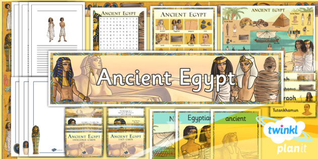 PlanIt - History UKS2 - Ancient Egypt Unit Additional Resources