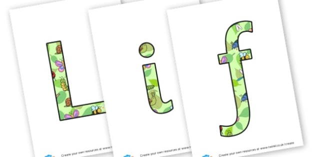 Life cycles lettering - display lettering - Life Cycles Primary Resources, lifecyles, caterpillar, butterfly