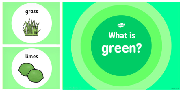 What is Green Colour PowerPoint - powerpoints, information, green