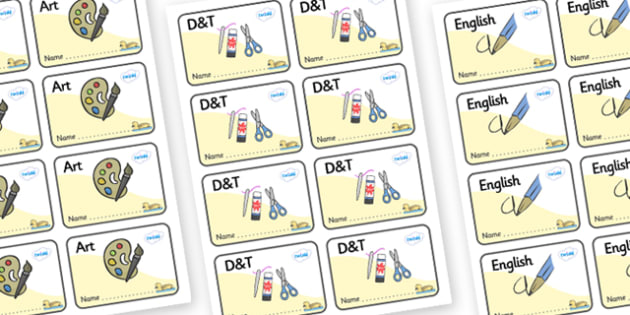 Gosling Themed Editable Book Labels - Themed Book label, label, subject labels, exercise book, workbook labels, textbook labels