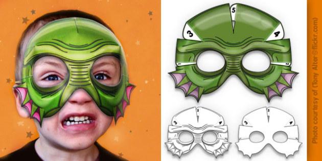 3D Halloween Fish Monster Mask - 3d, halloween, fish, monster, mask