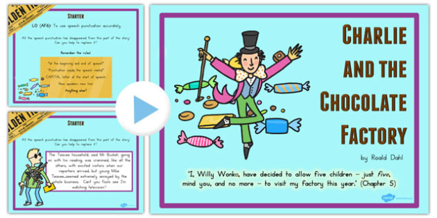 Drama Activity PowerPoint to Support Teaching on Charlie and the Chocolate Factory - australia