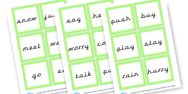 words to add 'ing' to - Prefixes and Suffixes Primary Resources, Words and Vocabulary