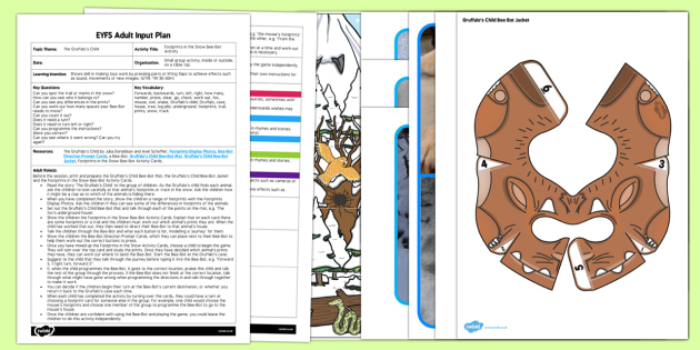 EYFS Footprints in the Snow Adult Input Plan and Resource Pack