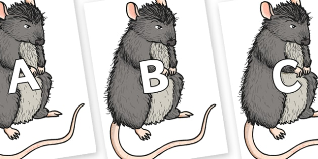A-Z Alphabet on Templeton - A-Z, A4, display, Alphabet frieze, Display letters, Letter posters, A-Z letters, Alphabet flashcards