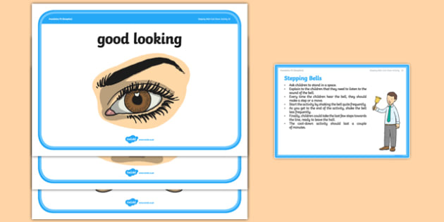 Foundation PE (Reception) Stepping Bells Cool-Down Activity Card - physical activity, foundation stage, physical development, games, dance, gymnastics
